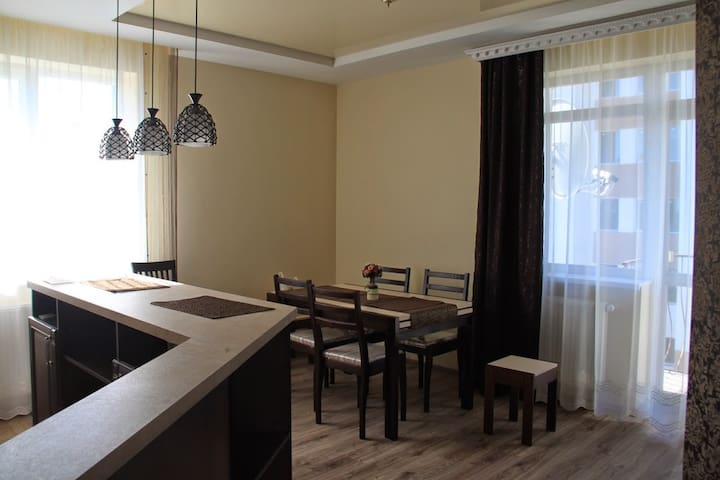 Modern, clean and well maintained - Vynnyky - Apartemen