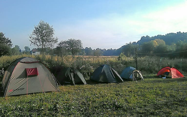 City camping (place for tents)