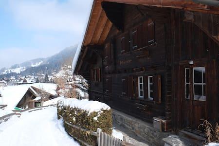 Sunny Studio for Two - Ski-in, Ski-out - Wengen - Apartamento