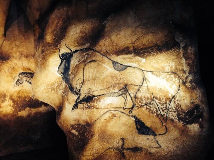 A Prieuré  as a hub to visit the Chauvet Cavern