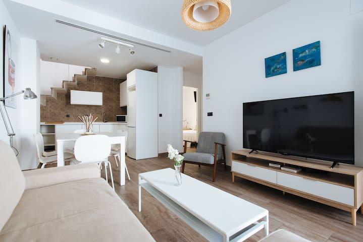 Atico Quijano con Jacuzzi EE Apartments
