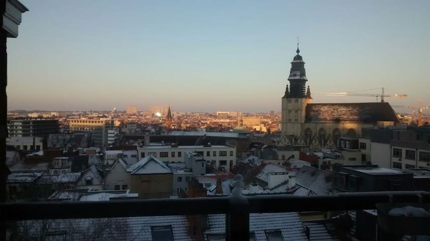 Double room in Sablon - Bruxelas - Casa