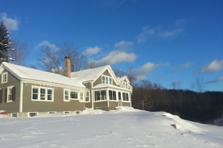 Beauty on 60 Acres 5 miles to Windham Ski Mountain - East Jewett - Casa