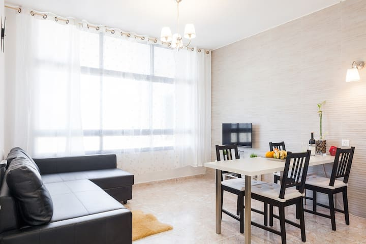 """Sky"" 3 rooms flat on the beach - Ashqelon - Huoneisto"