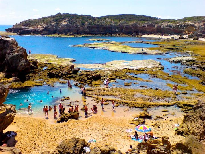 Amazing Blairgowrie Beach Ocean Paradise RockPools