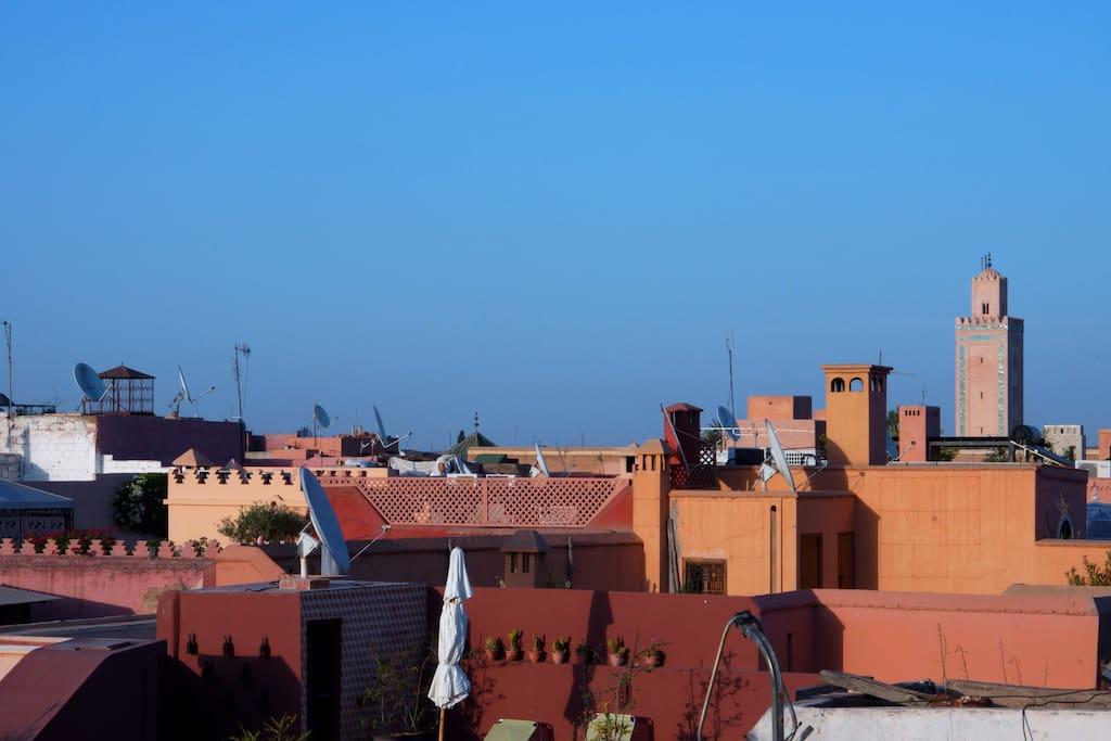 Riad zehar chambres d 39 h tes louer marrakech for Chambre d hotes marrakech