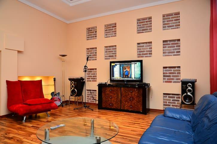 spacious LUX 3 bedrooms Maidan (Kreschatik) - Kiev - Íbúð