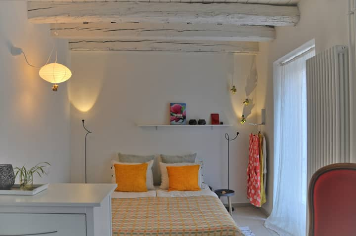 Beautifully renovated studio 40m from the Piazza