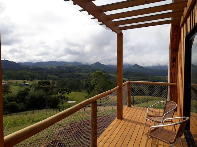 La Invernada Cabana nas montanhas 2, Serra Gaúcha