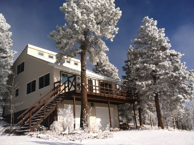 Secluded Mountain Home at 9200 ft