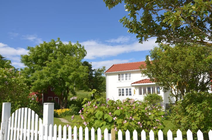 Historical house, beautiful island