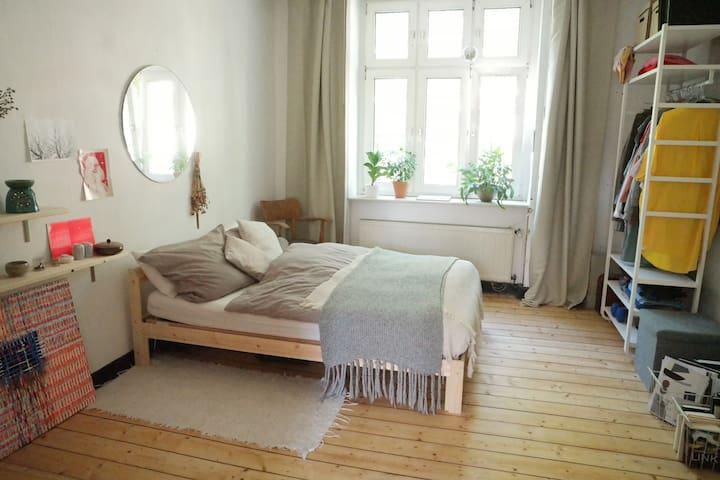 Sonnige, gemütliche Altbauwohnung mit Balkon
