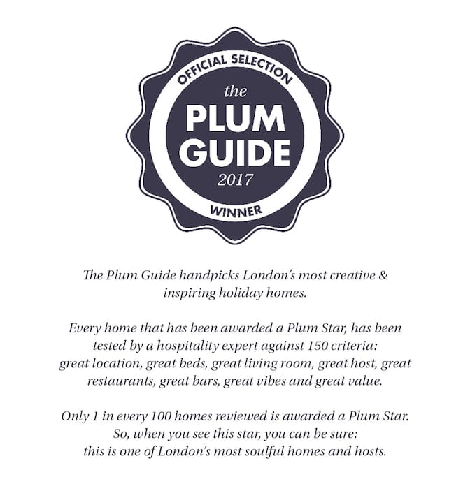 Plum Guide recommended