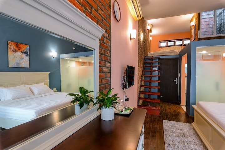 Family room at Hovi De Villa Trang An