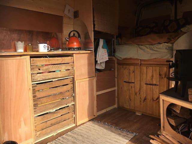 The Silver Surfing Cabin Campervan