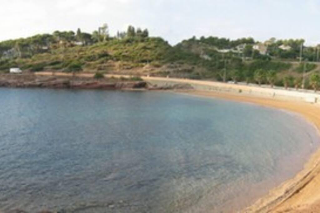 plage à moins de 100m à pied