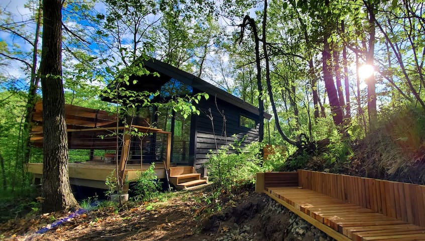 Acro Tiny Cabin in Cuyuna-Next to Trails & Main St