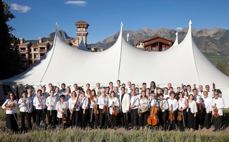 Our website (durangopuravida.com) has a calendar of events including Music in the Mountains
