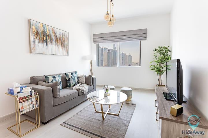 1/BR Modern Living | ♥ of Dubai Marina