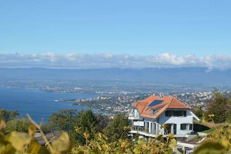Villa Lavaux B&B. Upscale comfort, superb views. - Grandvaux, Bourg-en-Lavaux