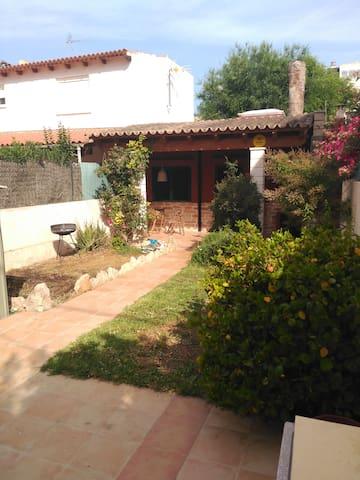 Casita con jardín y barbacoa - Can Pastilla - Casa