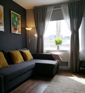 New modern decorated apartment with fast Wifi