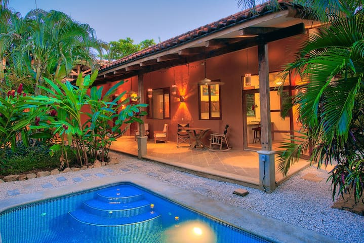 Secluded tropical Nosara casita - Nosara - Bungalow