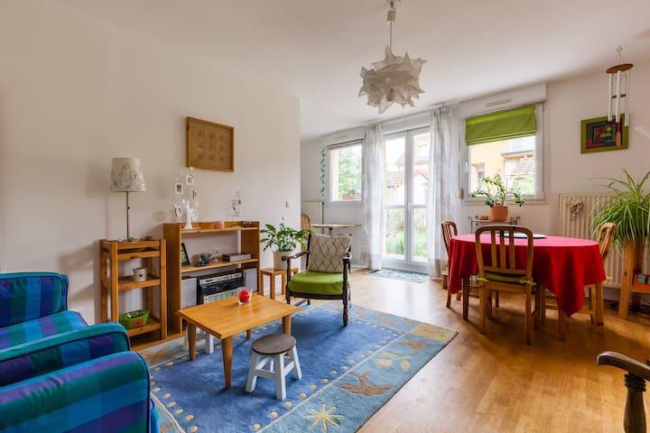 Nice apartment with quiet garden