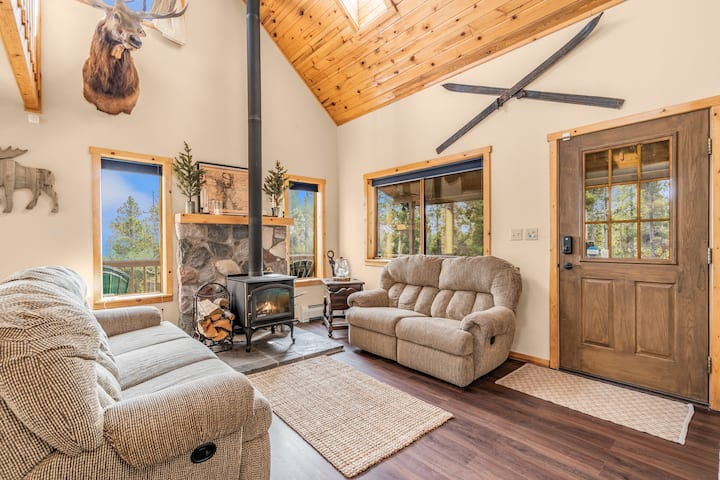 Rustic and COZY Fairplay mountain property!
