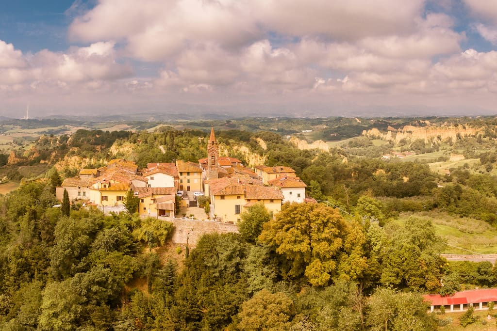 The town of Piantravigne