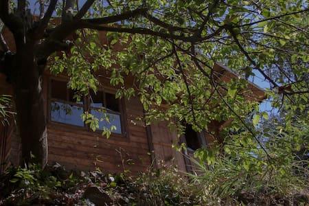 Casa en la naturaleza con rio/ 2 p. - Ojén - Cabane