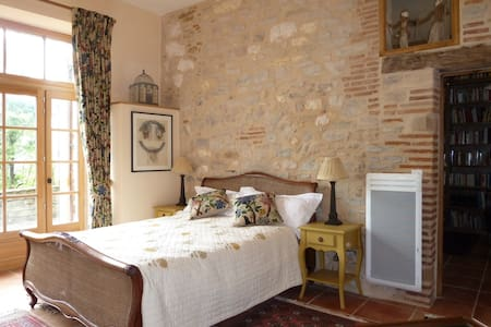 Luxury Chambre in medieval walls - Cordes-sur-Ciel, Tarn - Haus