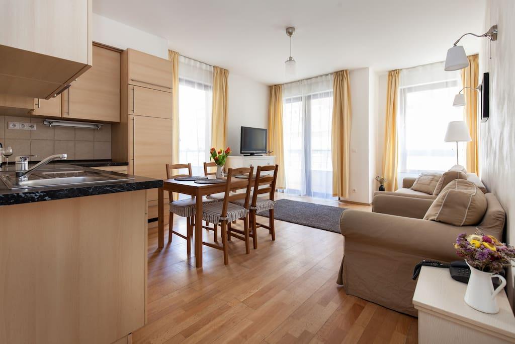Cosy apartment in city centre