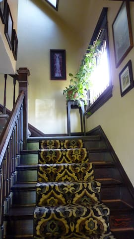 Shared Entry Stair