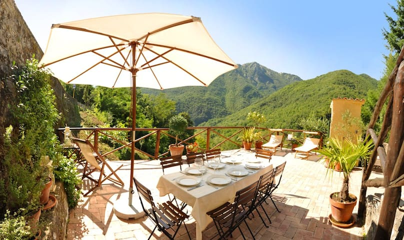 CHARMING HOUSE IN A LOVELY VILLAGE - Vico Pancellorum - Ev