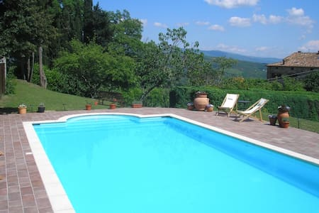 Charming stone house with 12m pool  - Haus