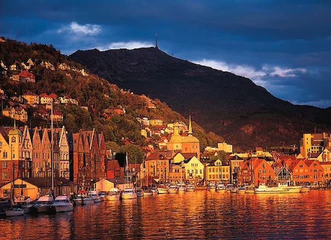 Bergen City Centre, great view!! - Bergen