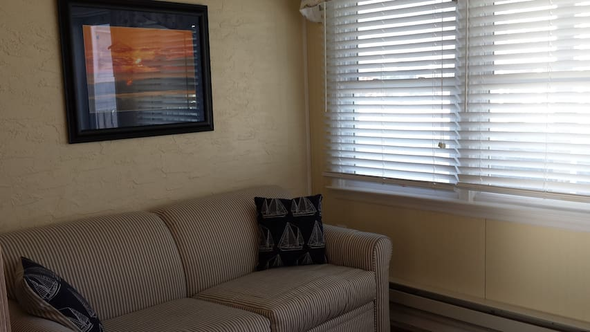 Cozy LBI studio close to the beach. - Long Beach Township - Lägenhet