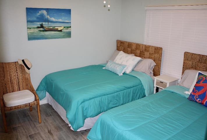 2nd Bedroom - 2 Full size Beds with Bathroom
