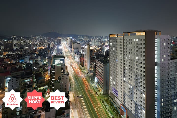 CITY VIEW_Near HongDae,5SEC HapJeong STN/막힘없는 초고층뷰
