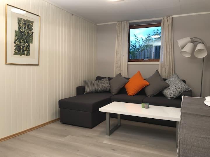 Apartment near city center, quiet living area