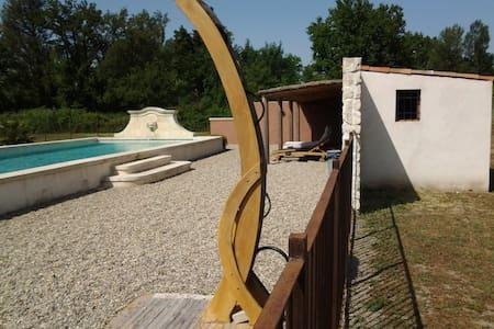 chambre pres d Avignon avec piscine - Caumont-sur-Durance