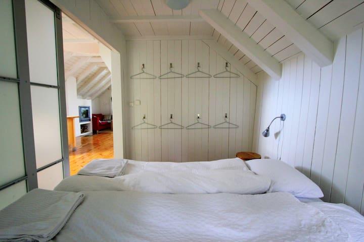 Bedroom downstairs.