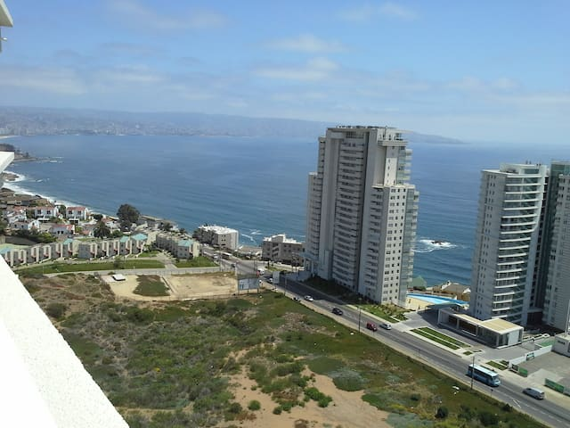 """Reñaca""""Cozy Apart Spectacular View"""" - Viña del Mar"""