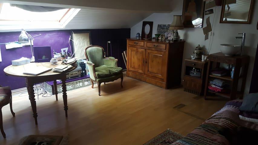 chambre avec vue!