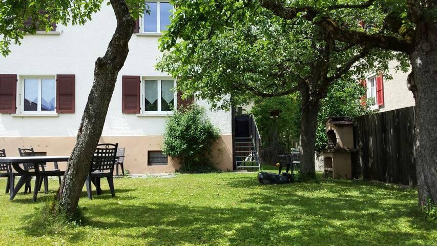Bel appartement dans la verdure - La Chaux-de-Fonds - Apartment