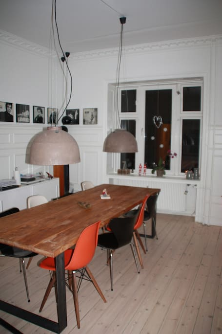 Diningroom facing street