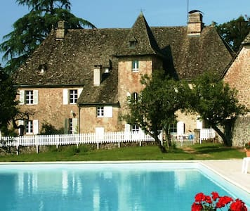 Chateau in heart of France for 20 - Saint-Privat
