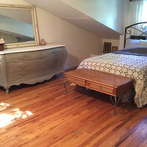 Cozy bedroom in the charming house - Suffern - Casa