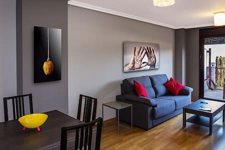 Estupendo piso con terraza - Posada